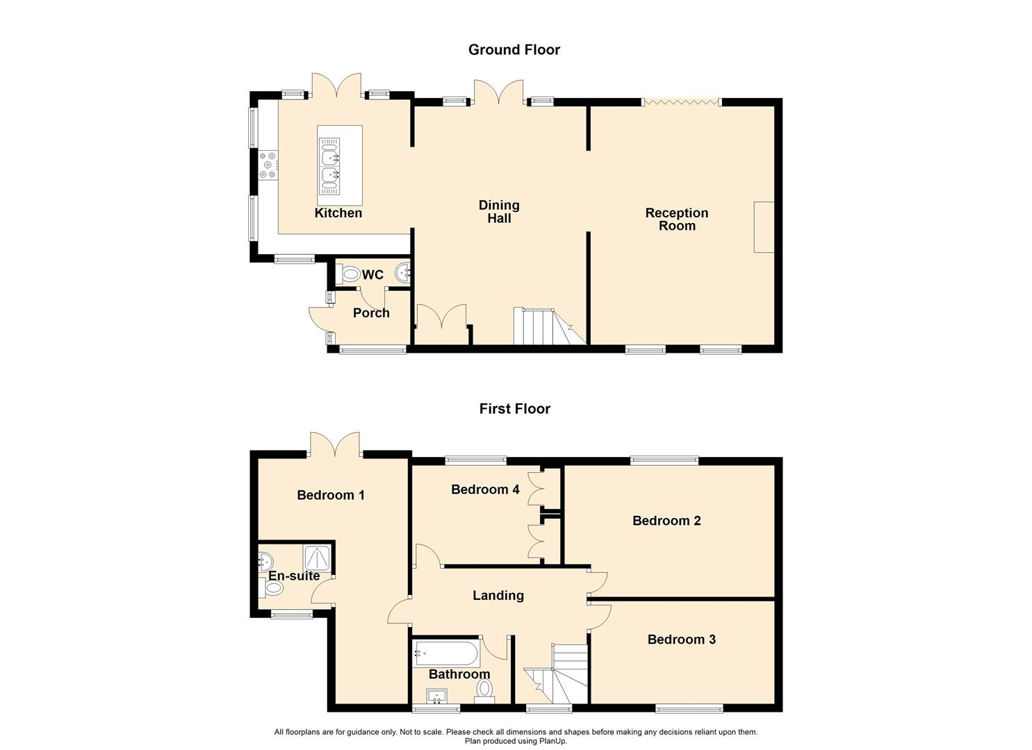 4 Bedroom Detached House For Sale - Fieldings Farm, Whalley Banks, Whalley.jpg
